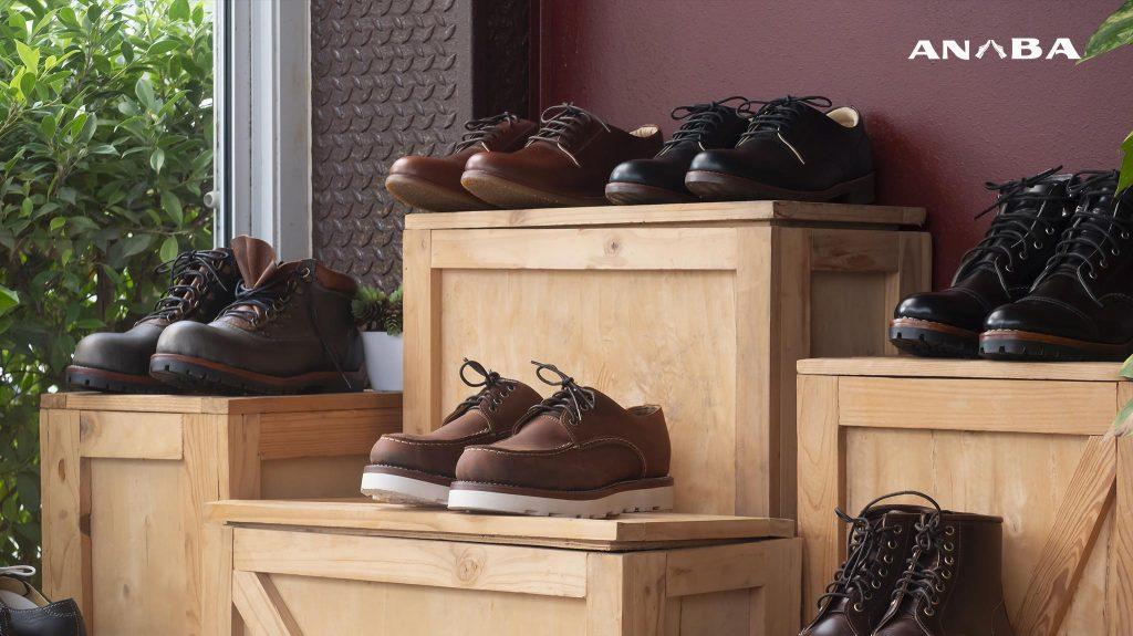 thị trường giày da