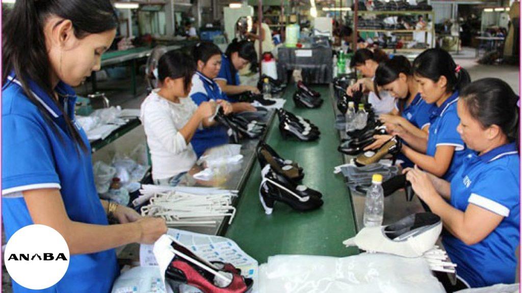 xưởng gia công giày da