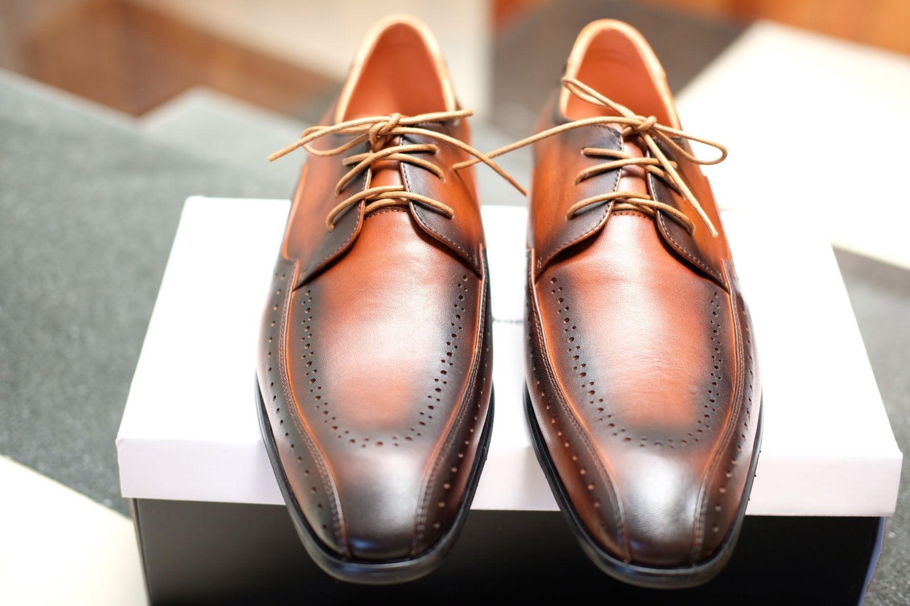 Xưởng giày da nam giá sỉ