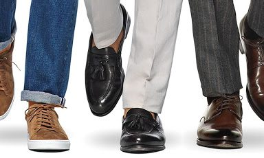Các kiểu giày da nam