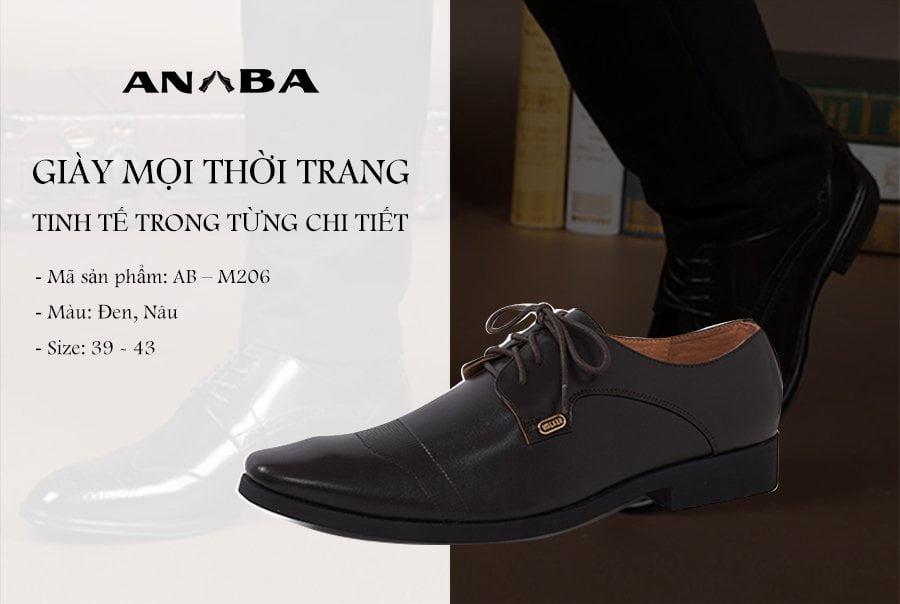 Giày mọi thời trang An Ba - AB - M206