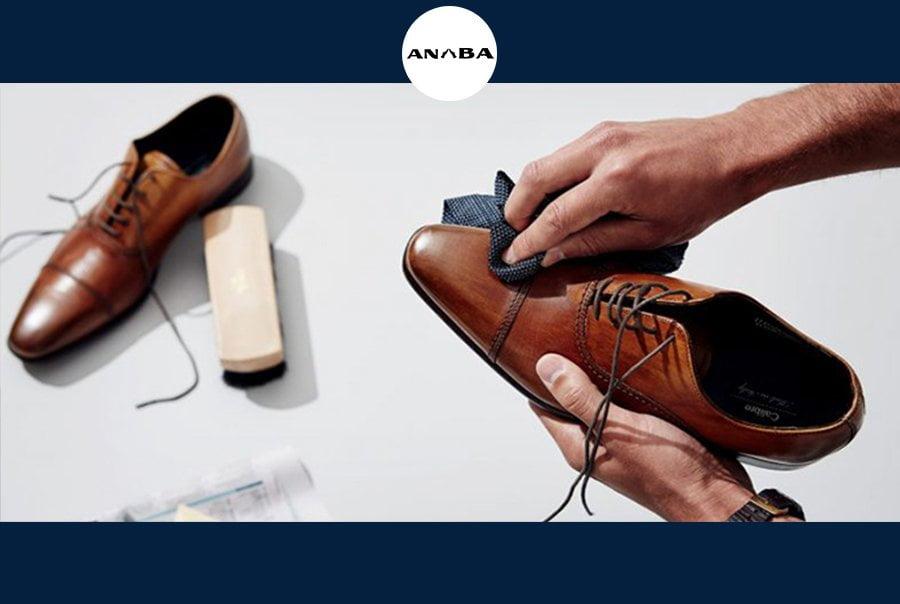 Đánh bóng giày da để bảo quản giày da bò tốt hơn
