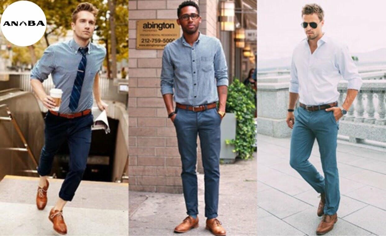 Sự da dạng trong các dáng giày da thời trang nam