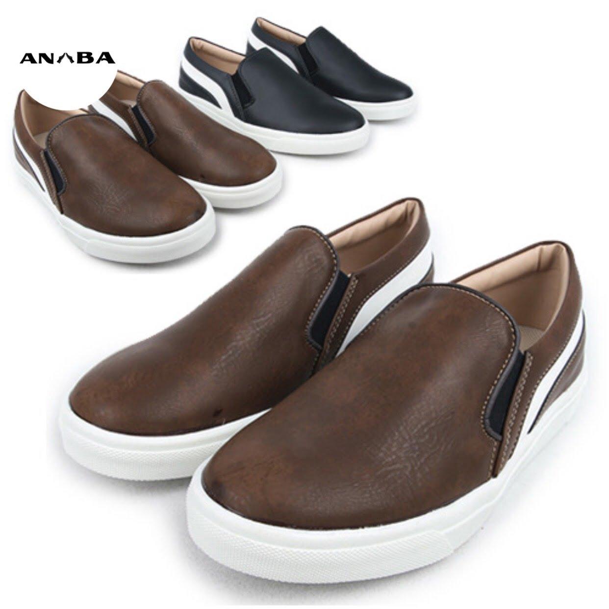 Thời thượng cùng mẫu giày da Slip on cao cấp
