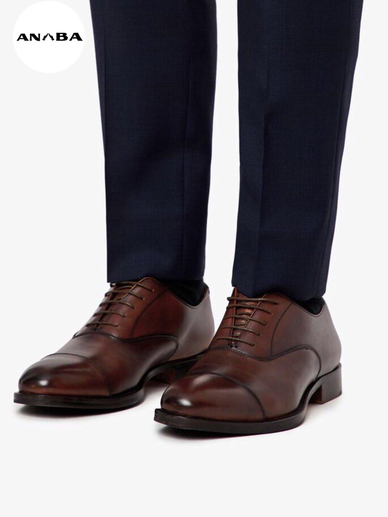 Mẫu giày tây nam huyền thoại của làng giày tây