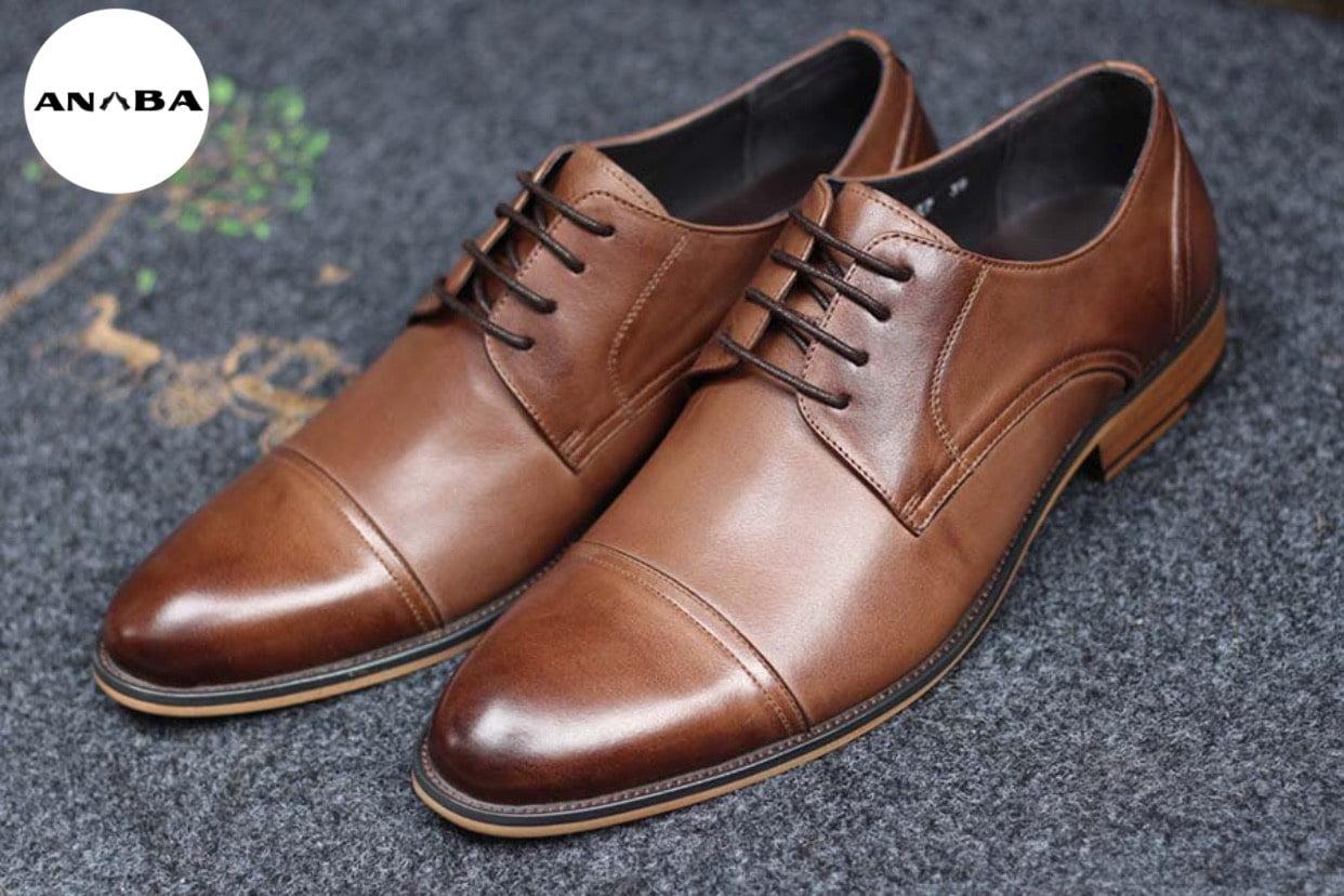 Mẫu giày tây nam Derby luôn giữ được vị trí trong lòng các quý ông.