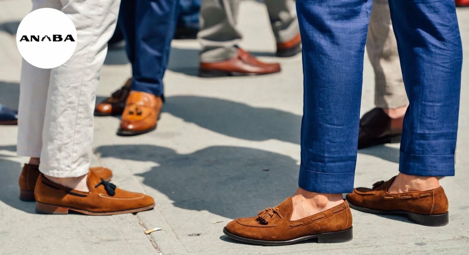 Mẫu giày tây nam - Mẫu giày mọi nam